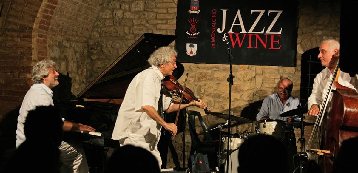 Matrimonio In Jazz : Jazz e vino in montalcino un matrimonio d amore lungo venti anni