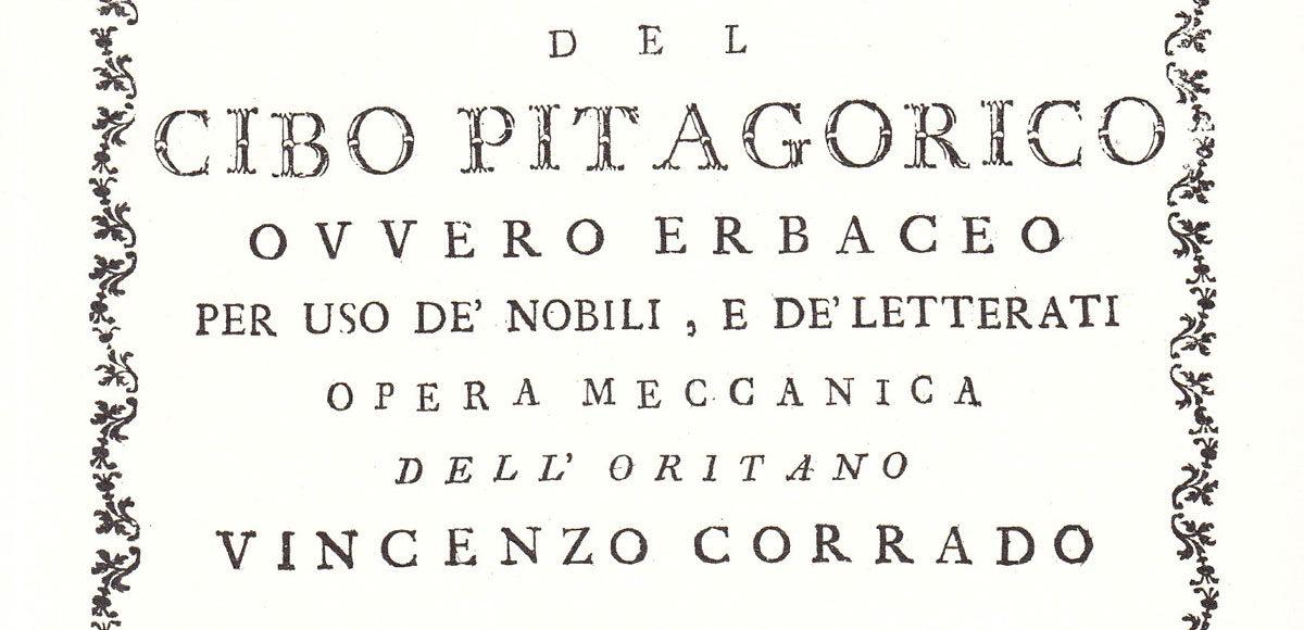 del-cibo-pitagorico-libro-napoli-vinosano